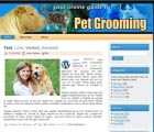Pet Grooming Wordpress Theme & Wordpress Template